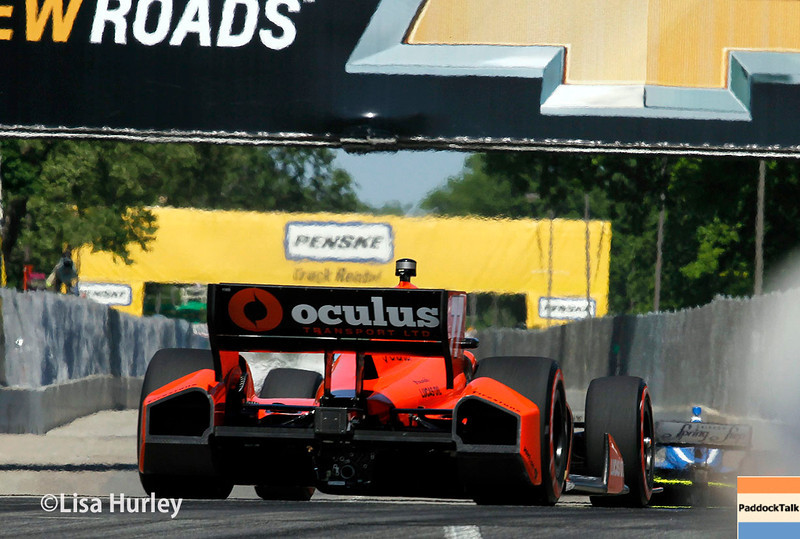 May 31: Simon Pagenaud during Race 1 of the Chevrolet Detroit Belle Isle Grand Prix.