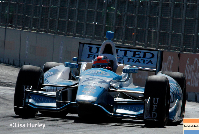 June 1: James Hinchcliffe during Race 2 of the Chevrolet Detroit Belle Isle Grand Prix.