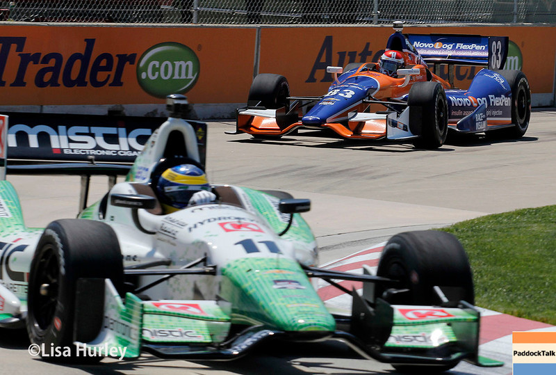 May 30: Track action during practice for the Chevrolet Detroit Belle Isle Grand Prix.
