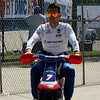 May 30: Mikhail Aleshin before practice for the Chevrolet Detroit Belle Isle Grand Prix.