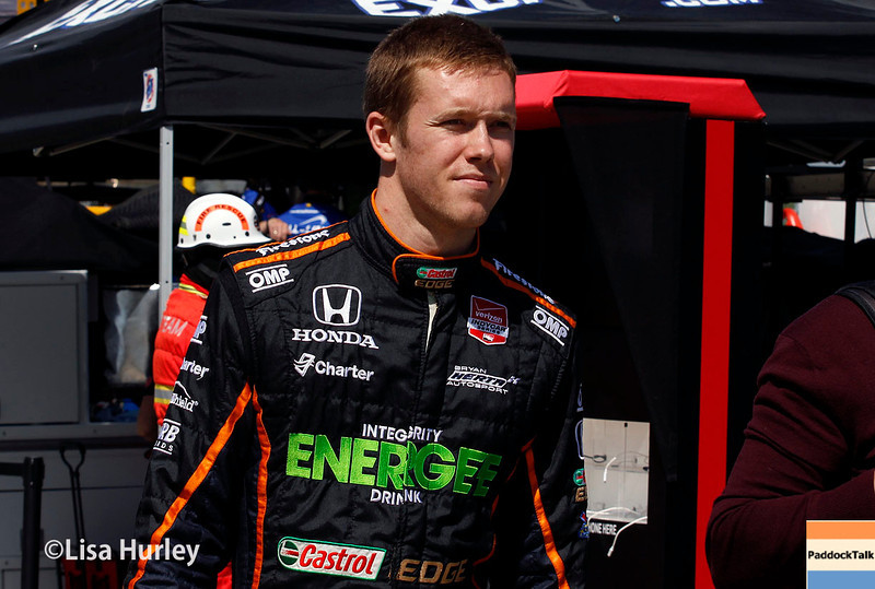 May 30: Jack Hawksworth before practice for the Chevrolet Detroit Belle Isle Grand Prix.