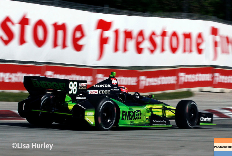 May 31: Jack Hawksworth during Race 1 of the Chevrolet Detroit Belle Isle Grand Prix.