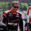 June 1: Juan Montoya before Race 2 of the Chevrolet Detroit Belle Isle Grand Prix.