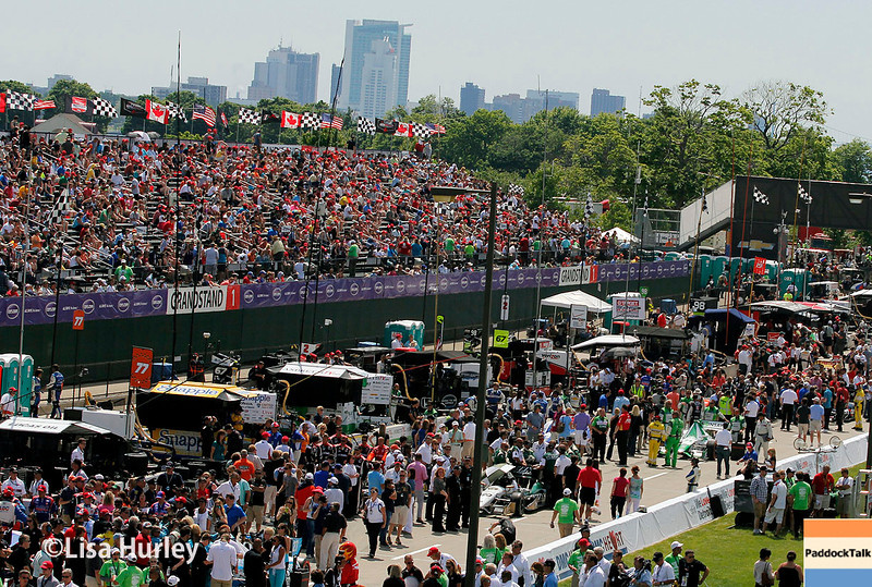 June 1: Prerace of Race 2 of the Chevrolet Detroit Belle Isle Grand Prix.