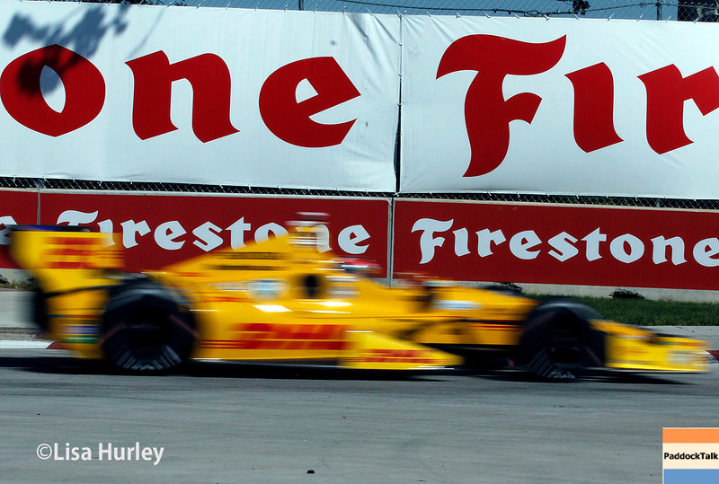May 31: during Race 1 of the Chevrolet Detroit Belle Isle Grand Prix.