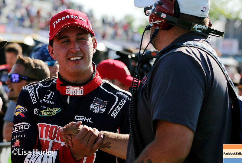 May 31: Graham Rahal after Race 1 of the Chevrolet Detroit Belle Isle Grand Prix.
