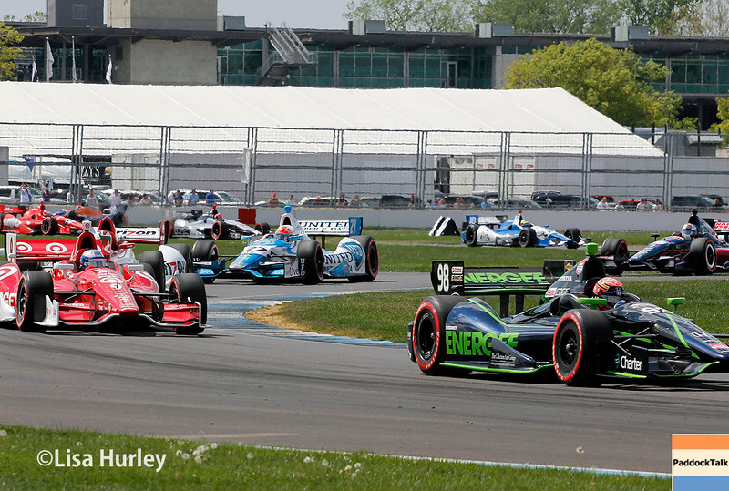May 10: Track action during the Grand Prix of Indianapolis.