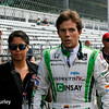May 10: Carlos Munoz before the Grand Prix of Indianapolis.