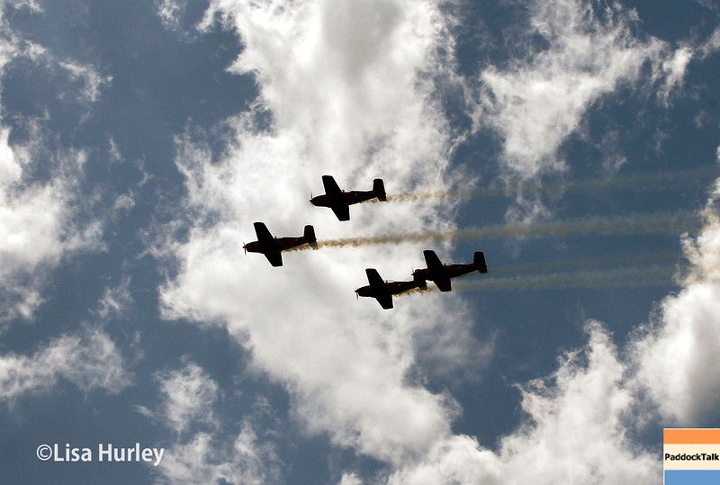 May 10: The fly-over during the Grand Prix of Indianapolis.
