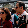 May 10: Helio Castroneves before the Grand Prix of Indianapolis.