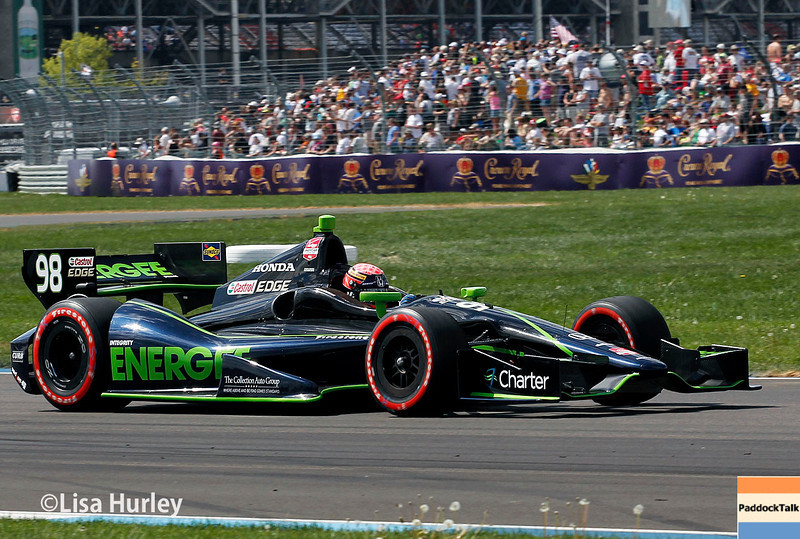 May 10: Jack Hawksworth during the Grand Prix of Indianapolis.
