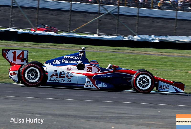 May 10: Takuma Sato during the Grand Prix of Indianapolis.