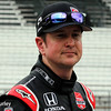 May 11: Kurt Busch during practice for the Indianapolis 500.