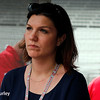 May 11: Katherine Legge during practice for the Indianapolis 500.