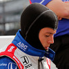 May 11: Martin Plowman during practice for the Indianapolis 500.
