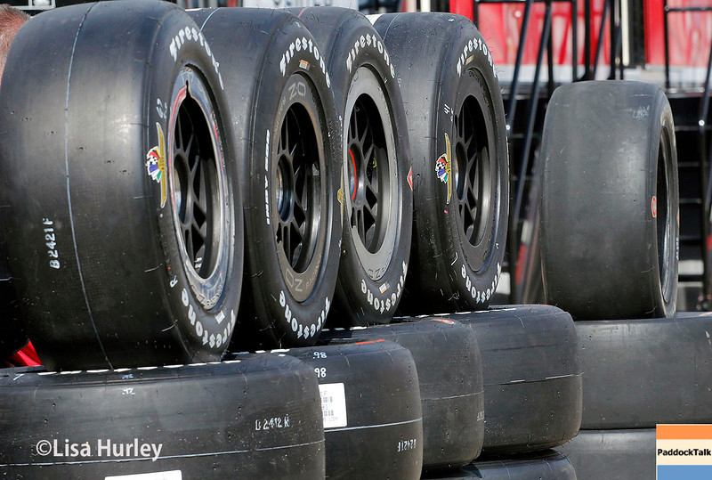 May 11: Firestone Firehawks during practice for the Indianapolis 500.