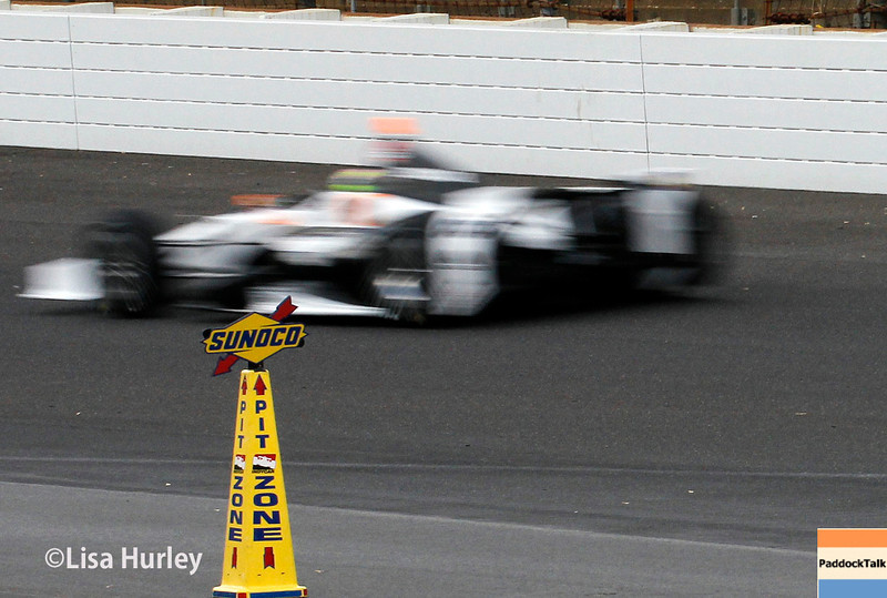 May 11: Josef Newgarden during practice for the Indianapolis 500.