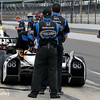 May 11: Alex Tagliani during practice for the Indianapolis 500.