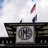May 11: The pagoda during practice for the Indianapolis 500.