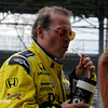 May 11: Jacques Villeneuve during practice for the Indianapolis 500.