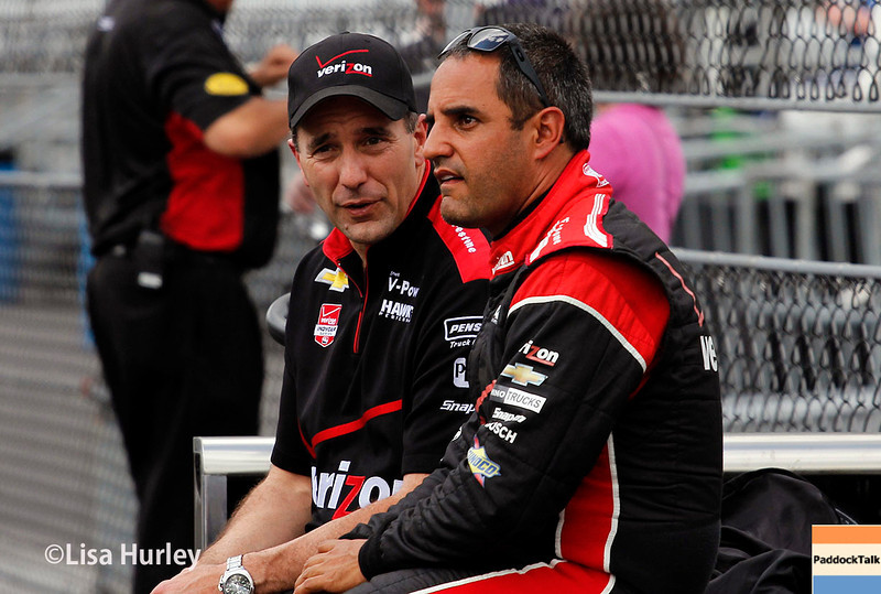 May 11: Juan Montoya during practice for the Indianapolis 500.
