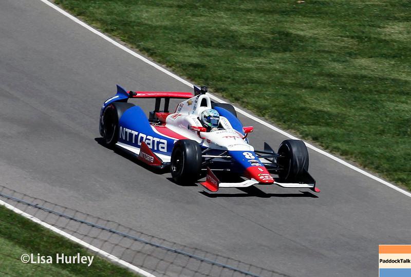 May 25: Ryan Briscoe during the 98th Indianapolis 500.
