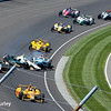 May 25: Ed Carpenter crash into James Hinchcliffe during the 98th Indianapolis 500.