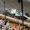 May 25: Ed Carpenter crash with James Hinchcliffe during the 98th Indianapolis 500.