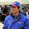 May 17: Takuma Sato during qualifying for the Indianapolis 500.
