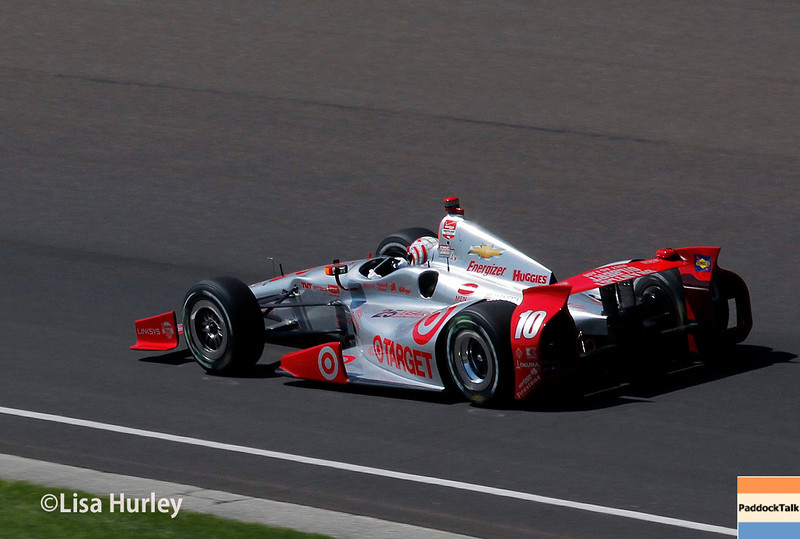 May 23: Tony Kanaan during Carburetion Day for the Indianapolis 500.