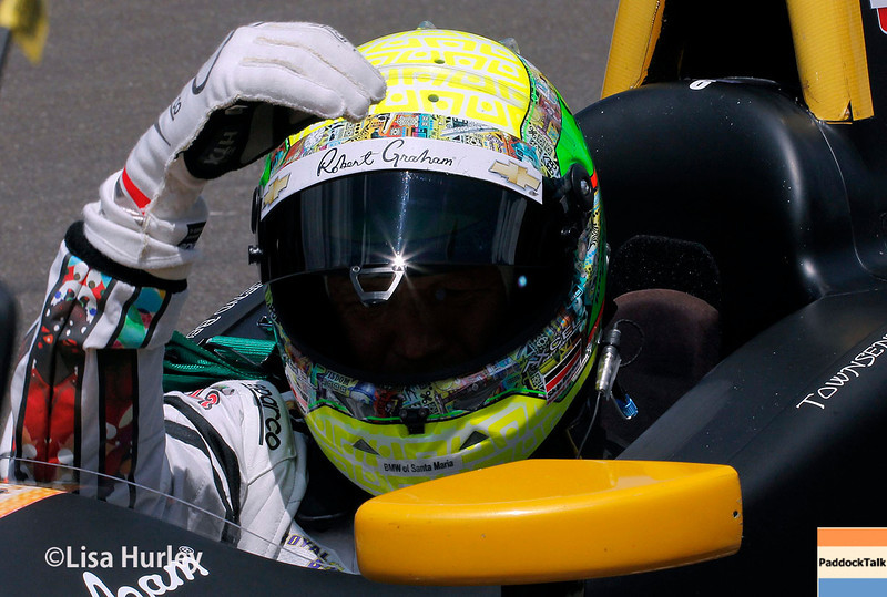 May 17: Townsend Bell during qualifying for the Indianapolis 500.