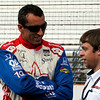 May 17: Justin Wilson during qualifying for the Indianapolis 500.
