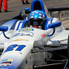 May 17: J.R. Hildebrand during qualifications for the Indianapolis 500.