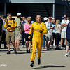 May 23: Helio Castroneves during Carburetion Day for the Indianapolis 500.