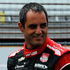 May 17: Juan Montoya during qualifying for the Indianapolis 500.