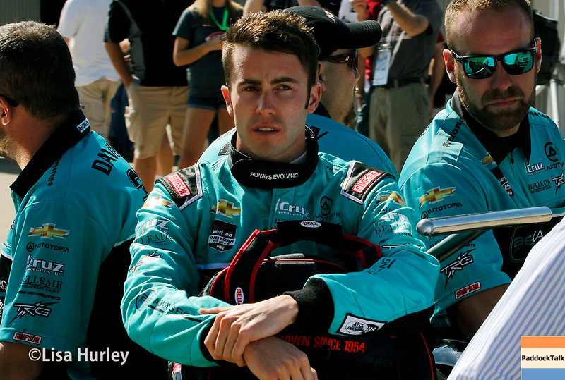 May 23: James Davison during Carburetion Day for the Indianapolis 500.