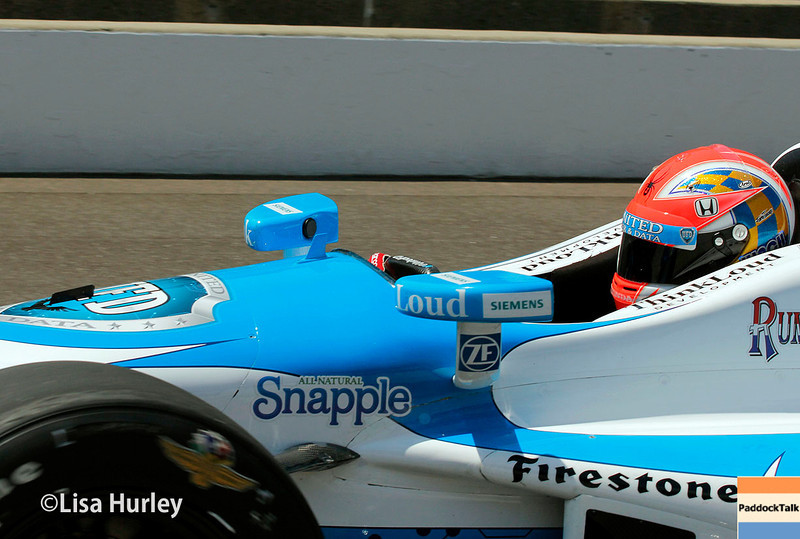 May 17: James Hinchcliffe during qualifications for the Indianapolis 500.