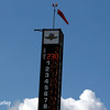 May 17: The scoring pylon during qualifying for the Indianapolis 500.