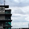 May 17: The Pagoda during qualifying for the Indianapolis 500.