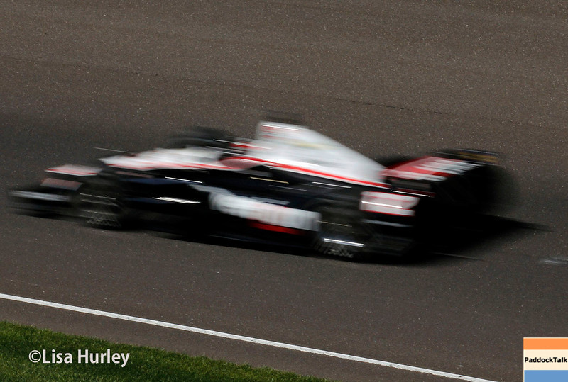 May 23: Will Power during Carburetion Day for the Indianapolis 500.