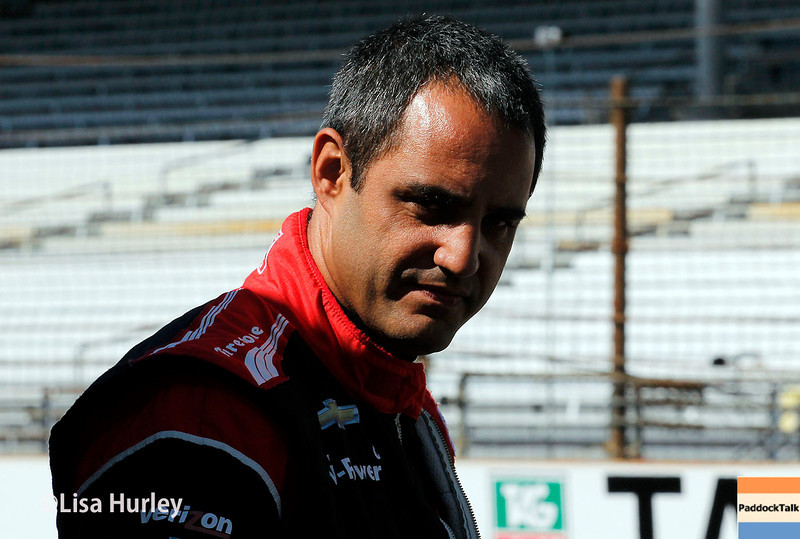 May 23: Juan Montoya during Carburetion Day for the Indianapolis 500.