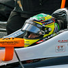 May 17: Alex Tagliani during qualifying for the Indianapolis 500.
