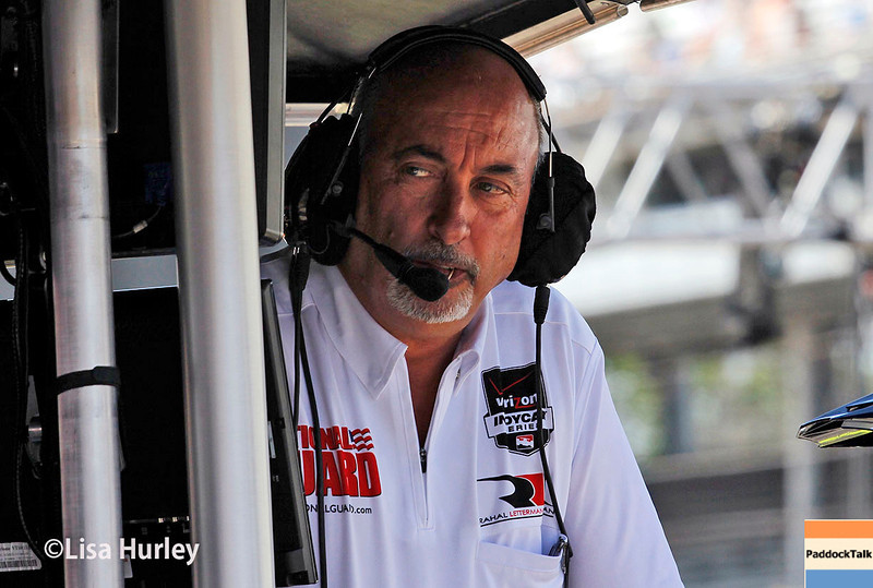 May 23: Bobby Rahal during Carburetion Day for the Indianapolis 500.