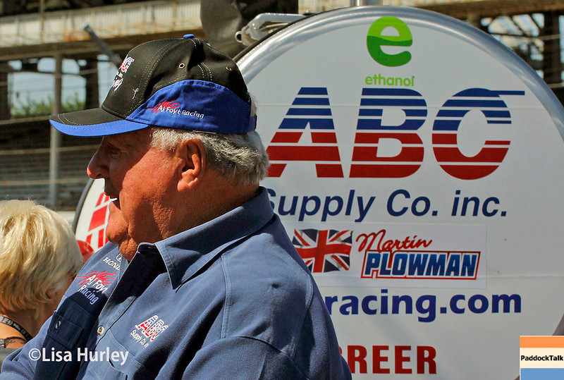 May 23: A.J. Foyt Jr. during Carburetion Day for the Indianapolis 500.
