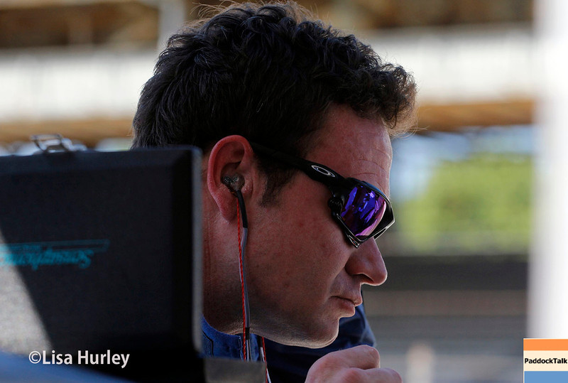 May 23: Buddy Lazier during Carburetion Day for the Indianapolis 500.