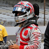 May 17: Tony Kanaan during qualifying for the Indianapolis 500.