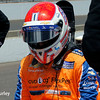 May 17: Charlie Kimball during qualifying for the Indianapolis 500.