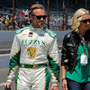 May 17: Ed and Heather Carpenter during qualifications for the Indianapolis 500.