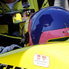 May 17: Jacques Villeneuve during qualifications for the Indianapolis 500.