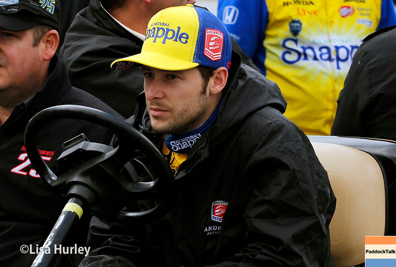 May 17: Marco Andretti during qualifying for the Indianapolis 500.